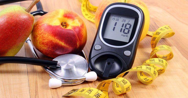 درمان دیابت با رژیم غذایی