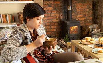 تغذیه در زمستان