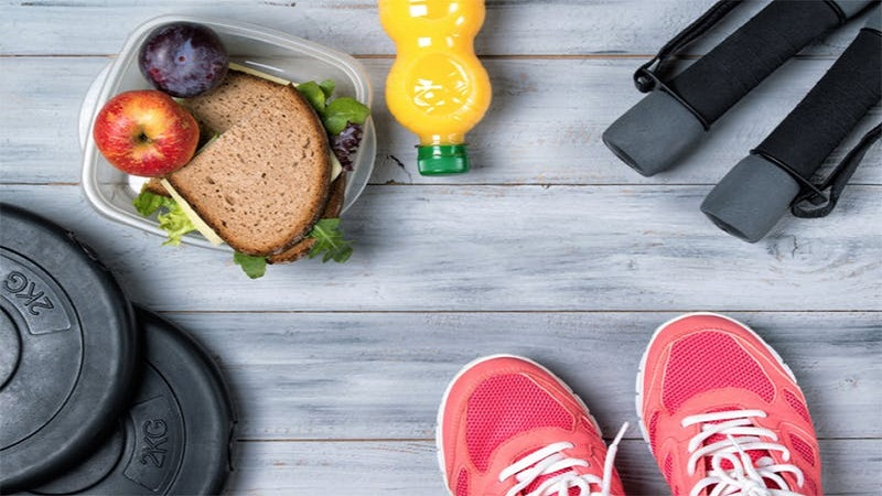 کدام مواد غذایی را باید قبل از ورزش کردن مصرف کنیم ؟